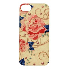Beautiful Pink Roses Apple Iphone 5s/ Se Hardshell Case by Brittlevirginclothing