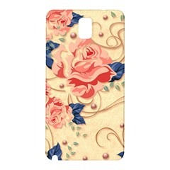Beautiful Pink Roses Samsung Galaxy Note 3 N9005 Hardshell Back Case by Brittlevirginclothing