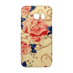 Beautiful Pink Roses Galaxy S6 Edge by Brittlevirginclothing