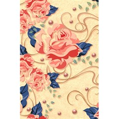 Beautiful Pink Roses 5 5  X 8 5  Notebooks by Brittlevirginclothing