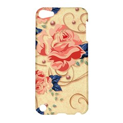 Beautiful Pink Roses Apple Ipod Touch 5 Hardshell Case by Brittlevirginclothing