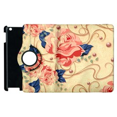 Beautiful Pink Roses Apple Ipad 3/4 Flip 360 Case by Brittlevirginclothing