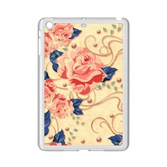 Beautiful Pink Roses Ipad Mini 2 Enamel Coated Cases by Brittlevirginclothing