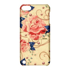 Beautiful Pink Roses Apple Ipod Touch 5 Hardshell Case With Stand by Brittlevirginclothing