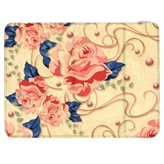 Beautiful Pink Roses Samsung Galaxy Tab 7  P1000 Flip Case by Brittlevirginclothing