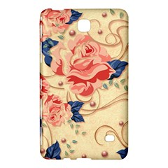 Beautiful Pink Roses Samsung Galaxy Tab 4 (8 ) Hardshell Case  by Brittlevirginclothing