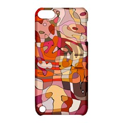 Abstract Abstraction Pattern Moder Apple Ipod Touch 5 Hardshell Case With Stand by Amaryn4rt