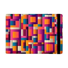 Abstract Background Geometry Blocks Ipad Mini 2 Flip Cases by Amaryn4rt