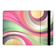 Abstract Colorful Background Wavy Samsung Galaxy Tab Pro 10 1  Flip Case