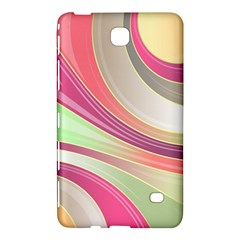 Abstract Colorful Background Wavy Samsung Galaxy Tab 4 (8 ) Hardshell Case