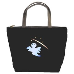 Ghost Night Night Sky Small Sweet Bucket Bags by Amaryn4rt