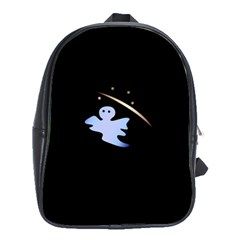 Ghost Night Night Sky Small Sweet School Bags (xl)