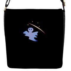 Ghost Night Night Sky Small Sweet Flap Messenger Bag (s) by Amaryn4rt