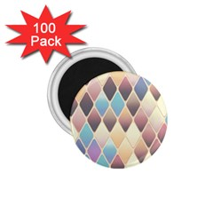 Abstract Colorful Background Tile 1 75  Magnets (100 Pack)