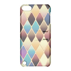 Abstract Colorful Background Tile Apple Ipod Touch 5 Hardshell Case With Stand by Amaryn4rt