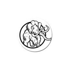 Mammoth Elephant Strong Golf Ball Marker (4 Pack) by Amaryn4rt