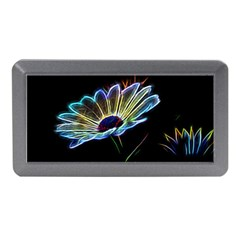 Flower Pattern Design Abstract Background Memory Card Reader (mini) by Amaryn4rt
