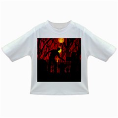 Horror Zombie Ghosts Creepy Infant/toddler T Shirts by Amaryn4rt