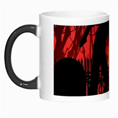 Horror Zombie Ghosts Creepy Morph Mugs by Amaryn4rt