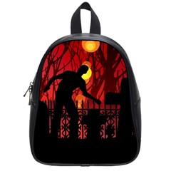 Horror Zombie Ghosts Creepy School Bags (small)  by Amaryn4rt