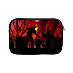 Horror Zombie Ghosts Creepy Apple Ipad Mini Zipper Cases by Amaryn4rt