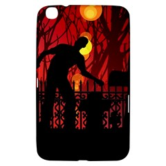 Horror Zombie Ghosts Creepy Samsung Galaxy Tab 3 (8 ) T3100 Hardshell Case