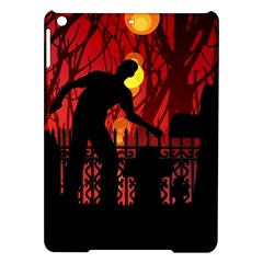Horror Zombie Ghosts Creepy Ipad Air Hardshell Cases by Amaryn4rt