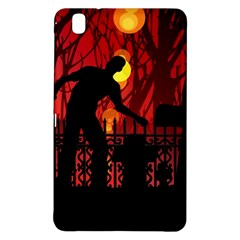 Horror Zombie Ghosts Creepy Samsung Galaxy Tab Pro 8 4 Hardshell Case by Amaryn4rt