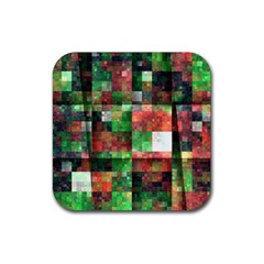 Paper Background Color Graphics Rubber Coaster (square)  by Amaryn4rt