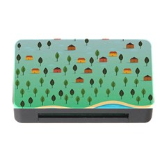 Rural Scenery Memory Card Reader With Cf by AnjaniArt