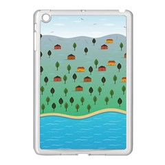 Rural Scenery Apple Ipad Mini Case (white) by AnjaniArt