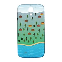 Rural Scenery Samsung Galaxy S4 I9500/i9505  Hardshell Back Case