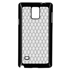 Round Black Samsung Galaxy Note 4 Case (black) by AnjaniArt