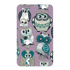 Seamless Owl Pattern Purple Memory Card Reader