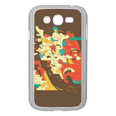 Shadow Advance Samsung Galaxy Grand Duos I9082 Case (white) by AnjaniArt