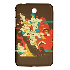 Shadow Advance Samsung Galaxy Tab 3 (7 ) P3200 Hardshell Case  by AnjaniArt