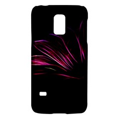 Purple Flower Pattern Design Abstract Background Galaxy S5 Mini by Amaryn4rt