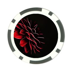 Pattern Design Abstract Background Poker Chip Card Guards by Amaryn4rt