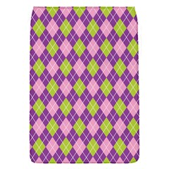 Purple Green Argyle Background Flap Covers (s)  by AnjaniArt