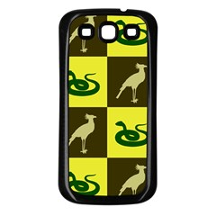 Snake Bird Samsung Galaxy S3 Back Case (black)
