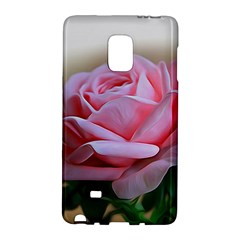 Rose Pink Flowers Pink Saturday Galaxy Note Edge by Amaryn4rt