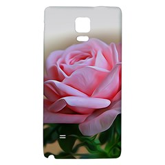 Rose Pink Flowers Pink Saturday Galaxy Note 4 Back Case by Amaryn4rt
