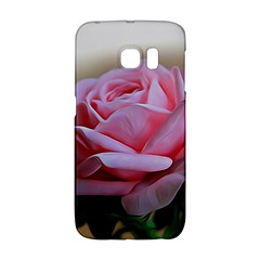 Rose Pink Flowers Pink Saturday Galaxy S6 Edge by Amaryn4rt