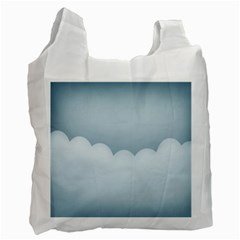 Soft Pure Backgrounds Recycle Bag (two Side)