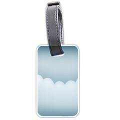 Soft Pure Backgrounds Luggage Tags (two Sides)