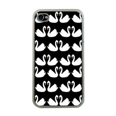 Swan Animals Apple Iphone 4 Case (clear) by AnjaniArt