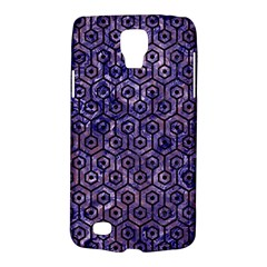Hexagon1 Black Marble & Purple Marble (r) Samsung Galaxy S4 Active (i9295) Hardshell Case by trendistuff