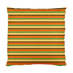 Striped Pictures Standard Cushion Case (two Sides)