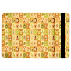 Texture Background Stripes Color Animals Ipad Air 2 Flip by AnjaniArt