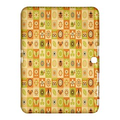 Texture Background Stripes Color Animals Samsung Galaxy Tab 4 (10 1 ) Hardshell Case  by AnjaniArt